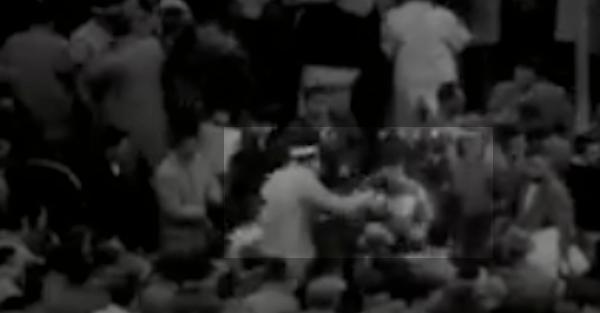 1955 Michigan vs. Ohio State Brawl Caught on Camera in Rare Footage