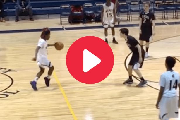"Basketball Player's ""Dribble Dance"" Earns Him Technical Foul"