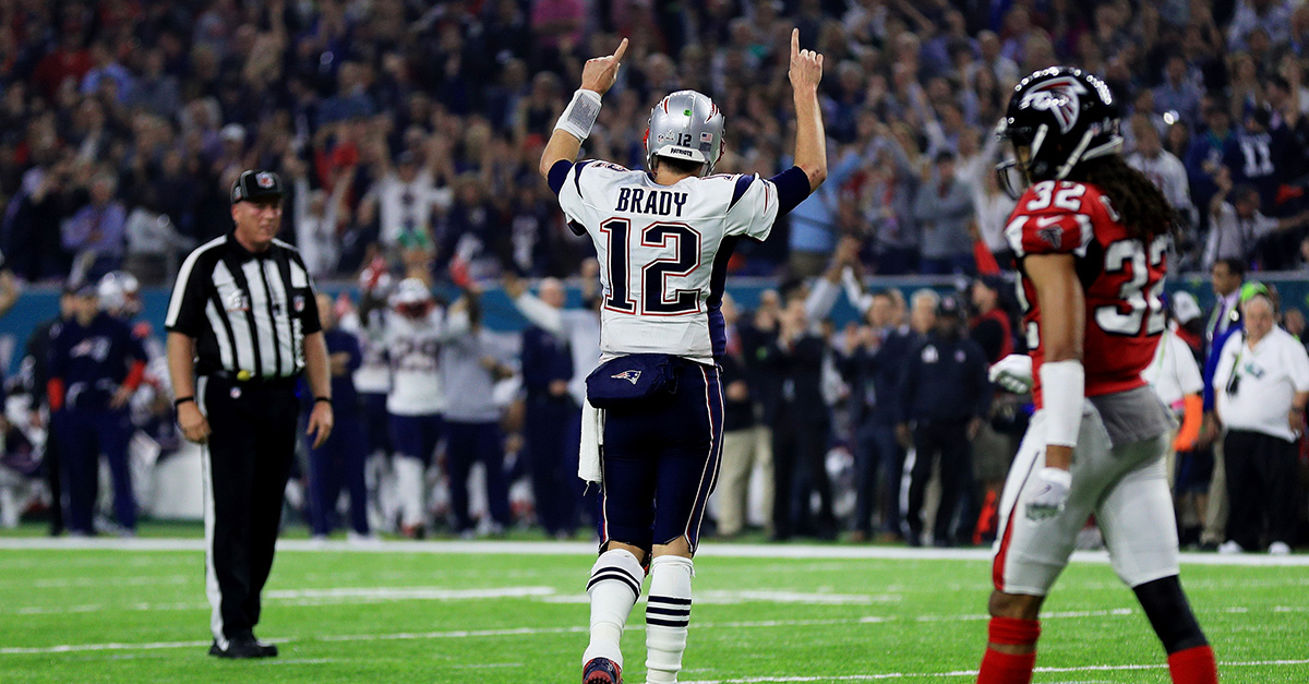 Tom Brady sent one athlete a text after winning the Super Bowl with a clear message