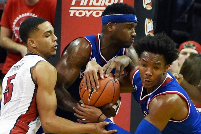 Kansas' Bragg has suspension ended, charges dropped under several conditions