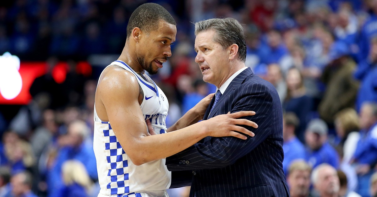 Kentucky's Isaiah Briscoe suffered the ultimate karma after insulting Gators