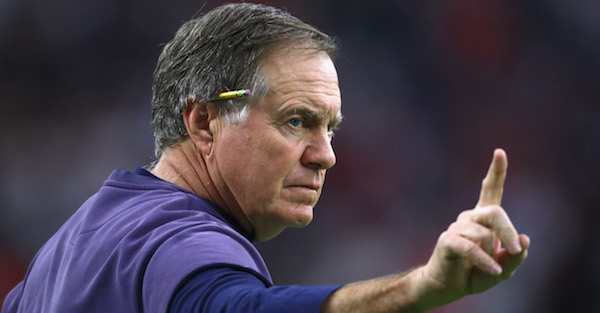 "Bill Belichick names the ""first guy"" he would recommend for the NFL Hall of Fame"