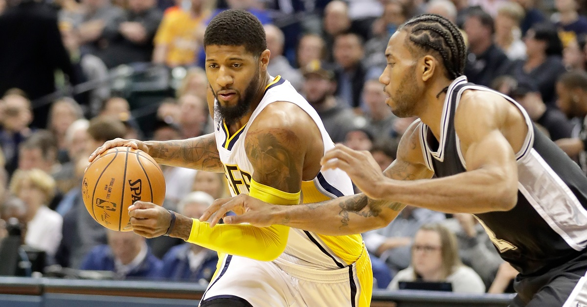 One team reportedly had 'monster' trade offer for Paul George before deadline