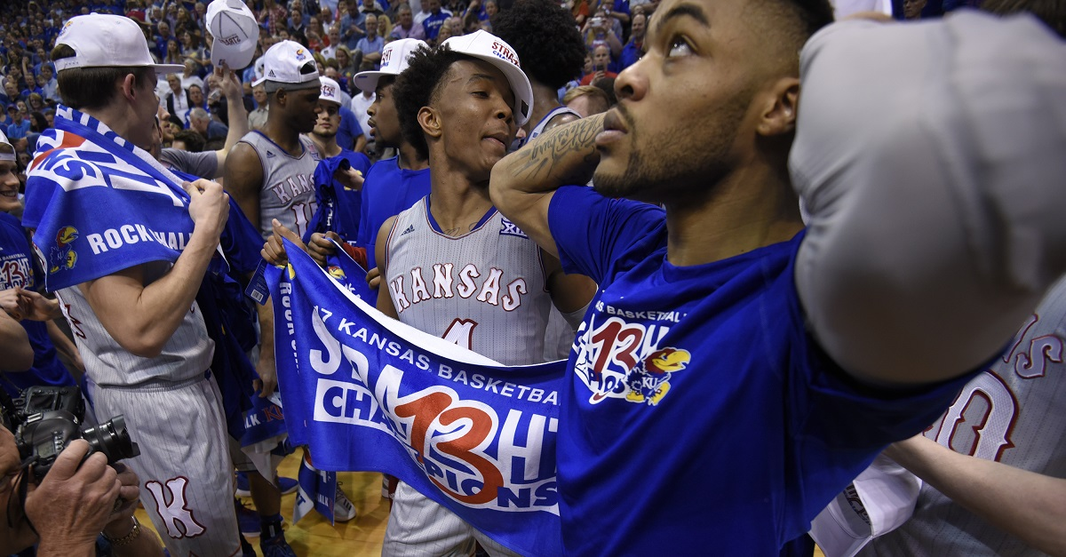 Kansas player arrested on his birthday for the dumbest reason