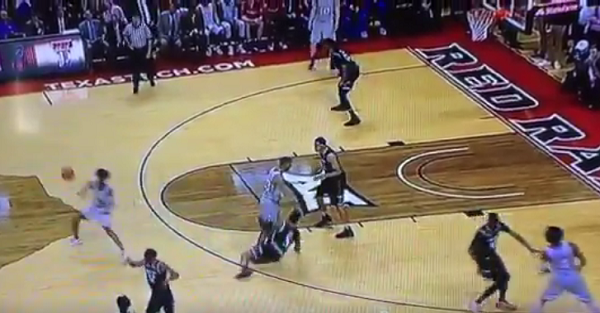 Kansas might have gotten away with another no-call on game-winning play