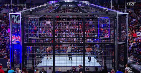 WWE Elimination Chamber results: John Cena loses WWE championship in main event