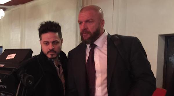 Is Triple H hinting at this NXT Superstar getting a main roster call-up soon?