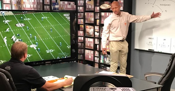 Jon Gruden straight up asked Joshua Dobbs why he's playing football