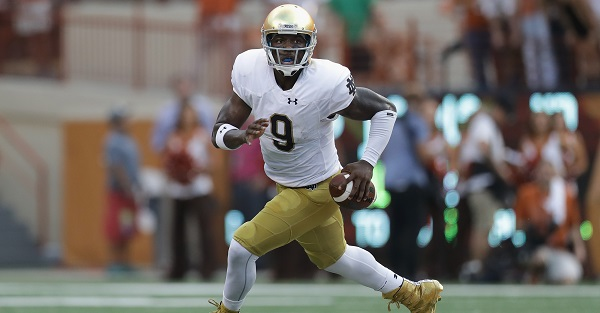 SEC finally makes decision on rule holding up Malik Zaire's transfer