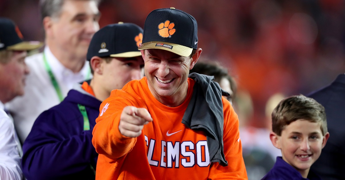 Dabo Swinney comments on Clemson's upcoming championship visit to the White House