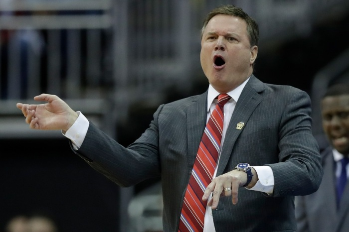 Bill Self took an unexpected jab from the Lawrence Police Department