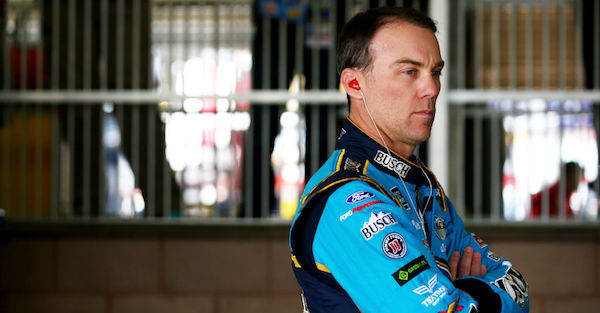 Kevin Harvick thinks there was a major reason for his advantage over NASCAR's young guns