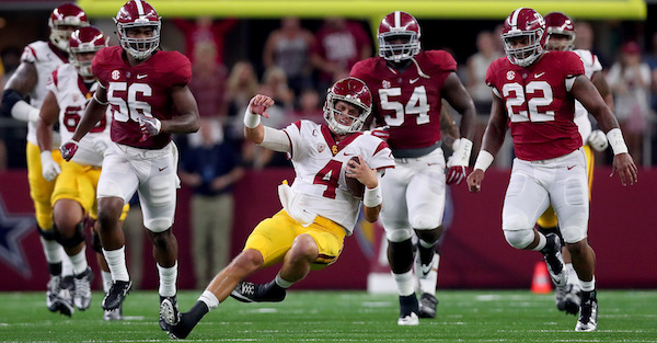Delusional USC players made a bold claim about Alabama