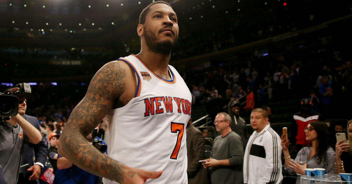 Coaches wanted to trade for Carmelo Anthony, but one GM said no and may revisit