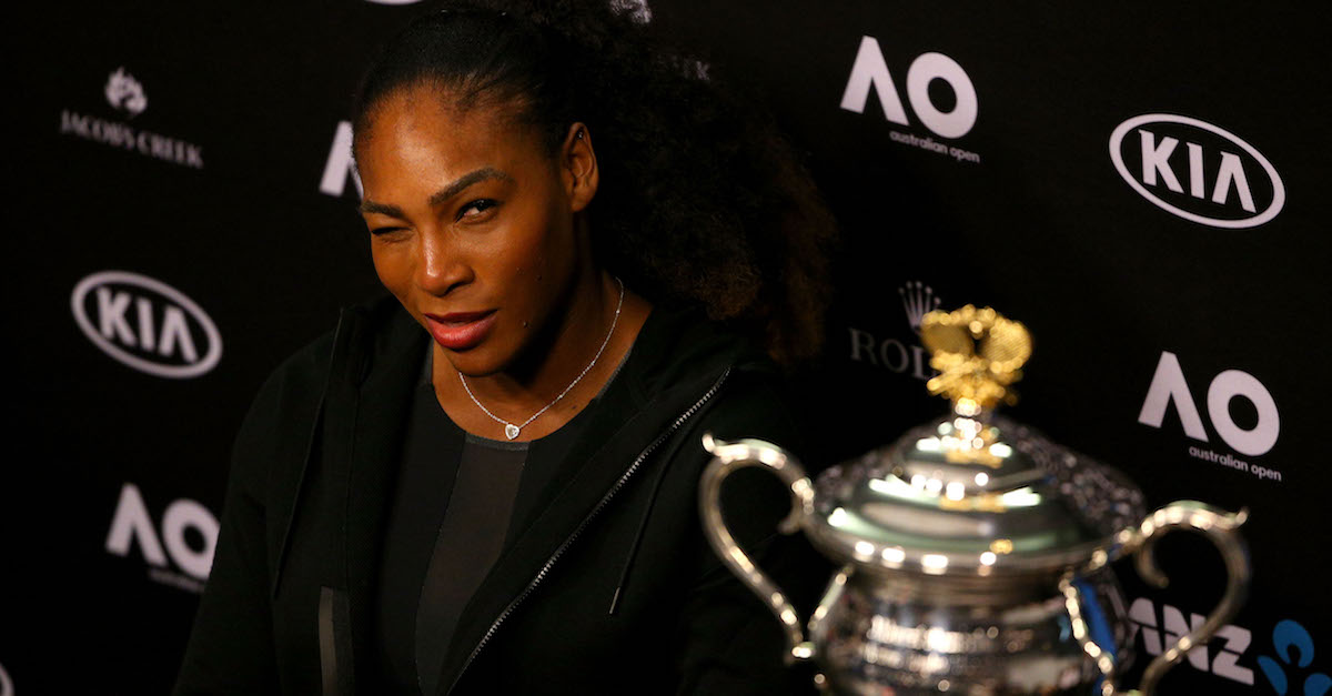 Serena Williams may have just completed the greatest feat in sports history