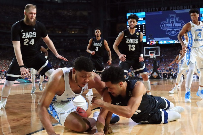 Controversial missed call a hot topic after North Carolina wins National Championship over Gonzaga