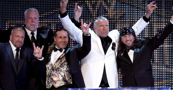 "Former WWE champion jokes about potential ""dream match"" featuring the nWo"