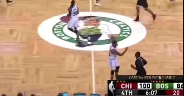 Celtics standout got fined a whopping sum for giving a fan the finger