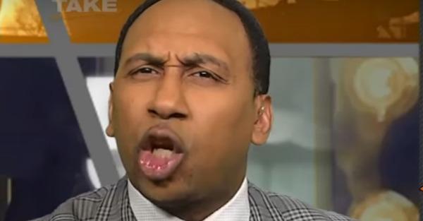 Stephen A. Smith pulls the race card after the Dallas Mavericks honor Tony Romo