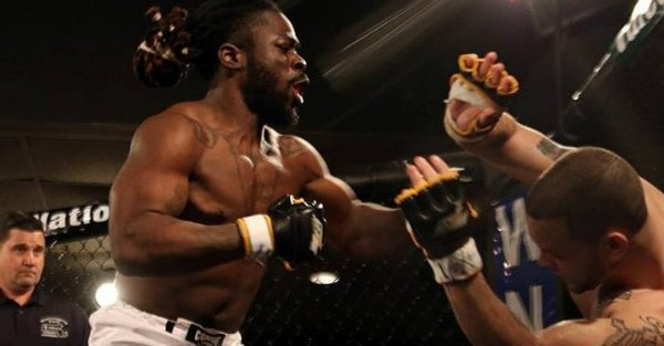 Kimbo Slice's kid debuts with huge TKO victory