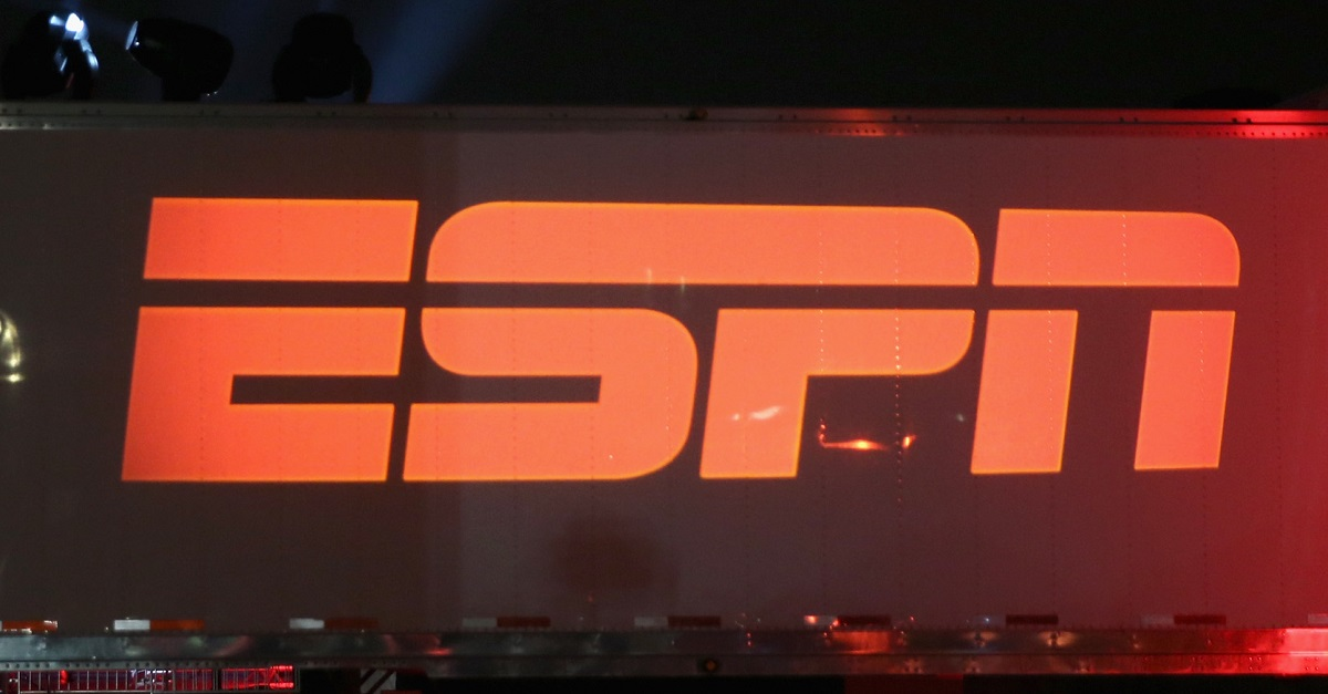 An ESPN show is now being affected by Hurricane Irma