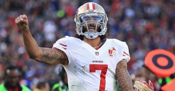 Amid all of the controversy, Colin Kaepernick gets an award from the NFLPA