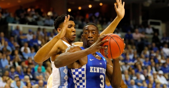 """Former five-star recruit and """"one-and-done"""" star will keep his name in the NBA Draft"""