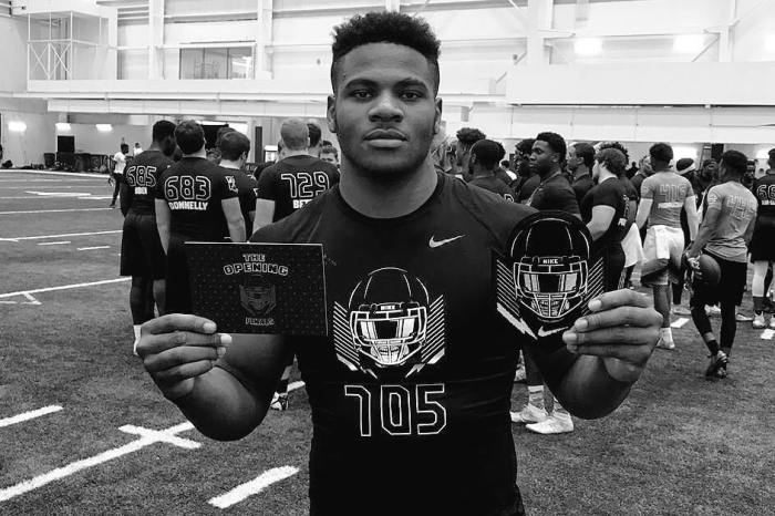 "Five-star DE Micah Parsons says he hopes to make a major recruiting decision ""soon"""