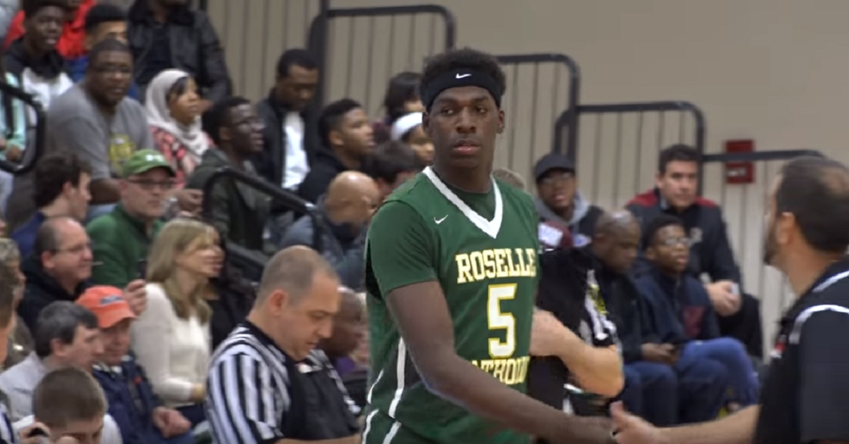 Five-star PF Nazreon Reid cuts schools down to an elite 10