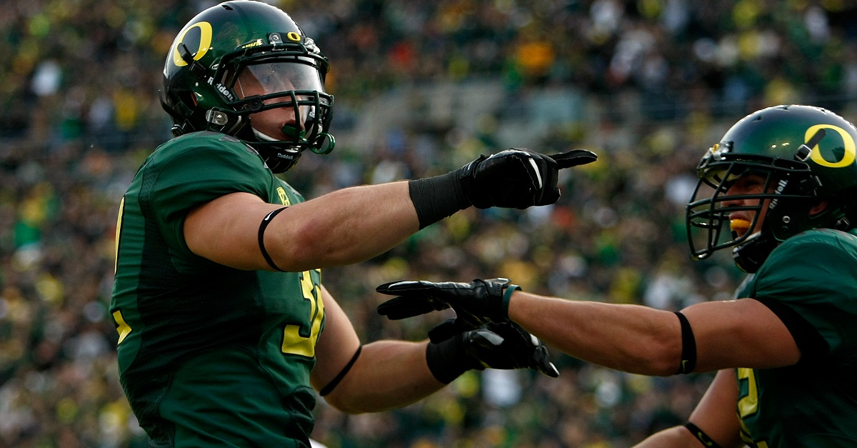 Former Oregon football player escapes from jail, nearly dies after drug overdose