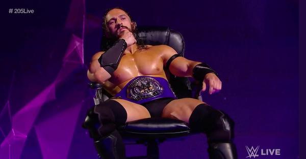 Neville 205 Live Cruiserweight Champion