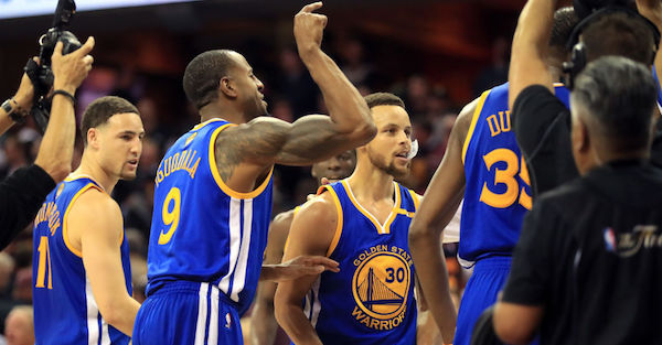 Defending champion Warriors reportedly set to re-sign huge member of the team