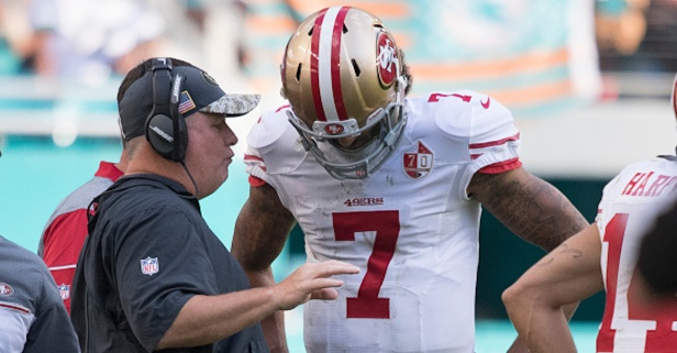 Former 49ers head coach Chip Kelly gives the inside take on the Colin Kaepernick controversy