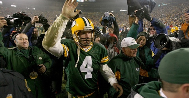 Brett Favre may not be done with the NFL just yet