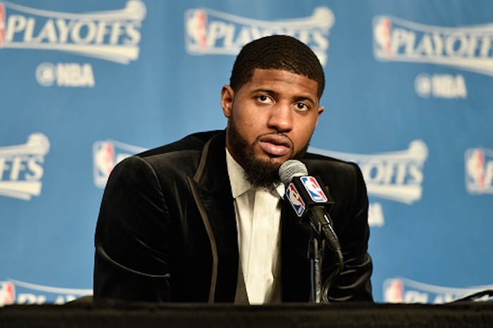 "With trade rumors swirling, here's what 4-time All-Star Paul George is reportedly ""telling friends"""