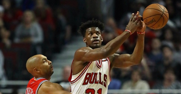 Stephen A. Smith says one lowly team turned down an offer for Jimmy Butler