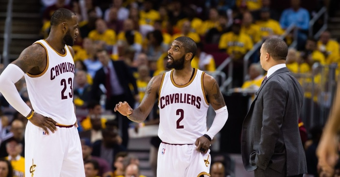 NBA assistant coach once berated LeBron James and Kyrie Irving in profanity-laced outburst