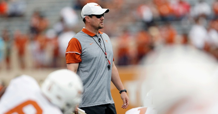 Tom Herman reveals who the leader is for Texas' starting QB job
