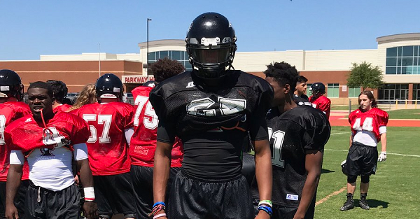 Four-star safety Israel Mukuamu drops a scattered top list of schools