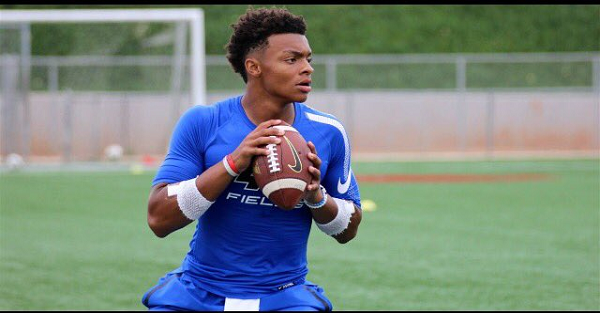 One fan base should be thrilled after hearing who 5-star, No. 1 dual-threat QB Justin Fields modeled his game after