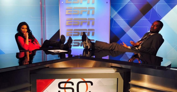 After being laid off by ESPN, a former Sportscenter anchor gets a head start on pro sports comeback