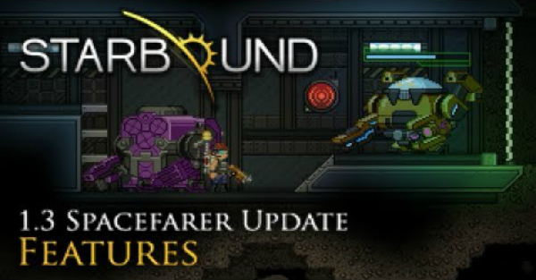 Starbound introduces mechs, space stations, and more in new Spacefarer's update