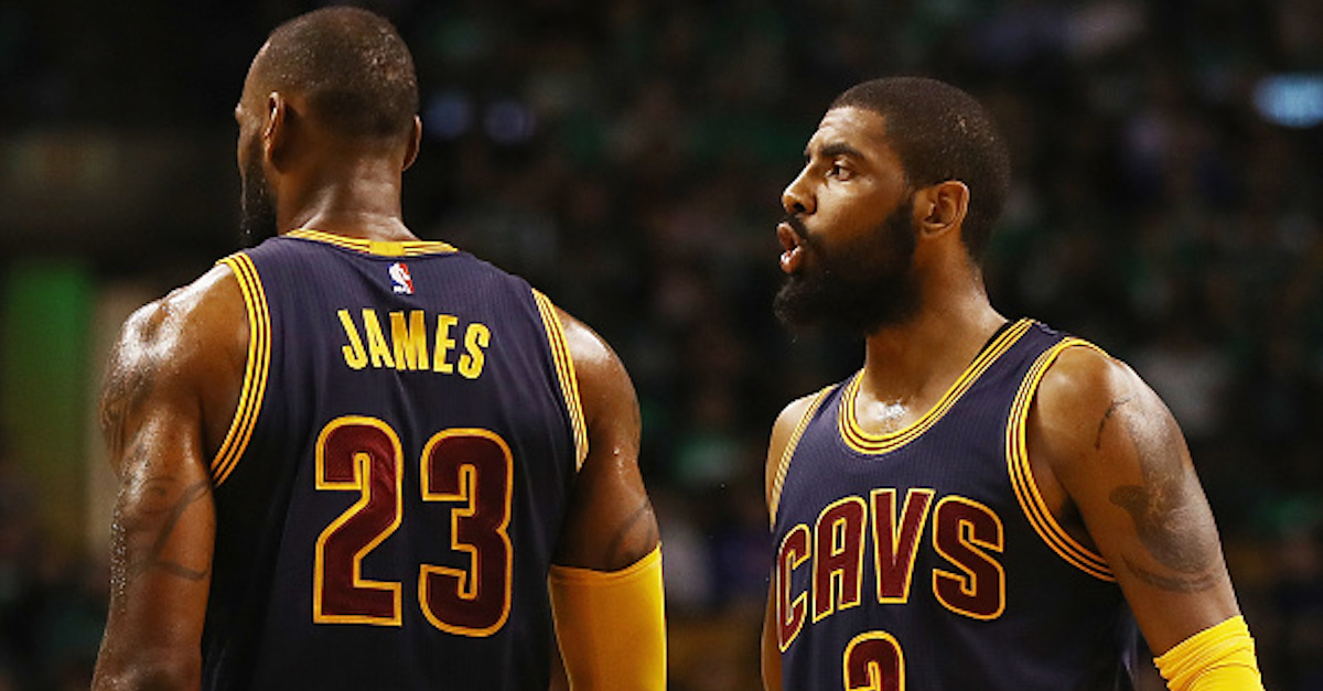 Cavaliers reportedly passed on a Kyrie Irving trade offer that likely has Cleveland kicking itself