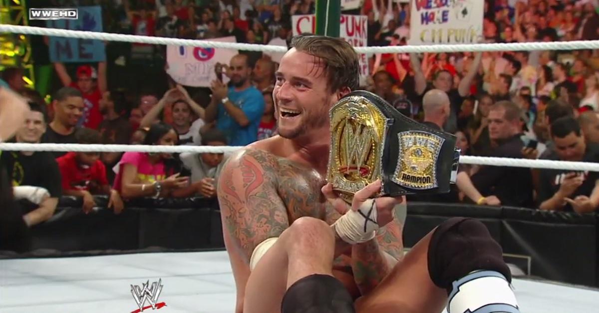 CM Punk Return WWE