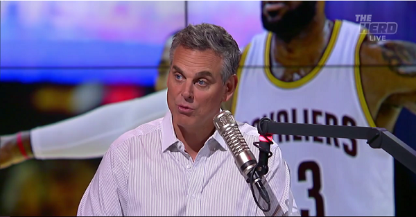 Colin Cowherd takes massive shot at ESPN