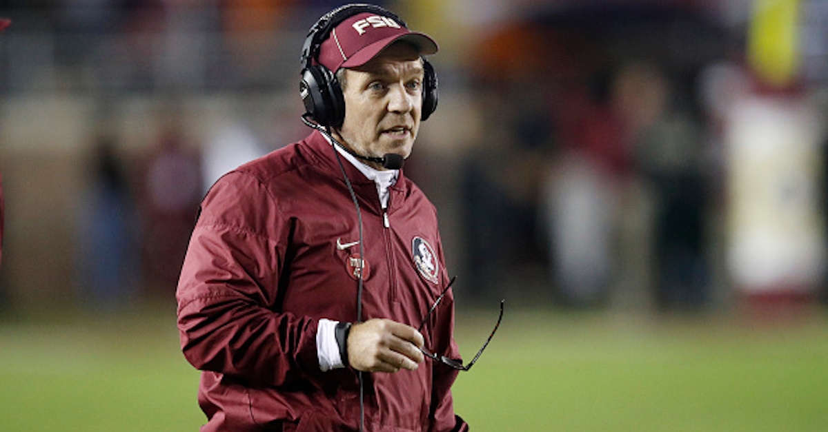 Jimbo Fisher confirms FSU is looking to alter scheduling decision in attempt to keep historic streak alive