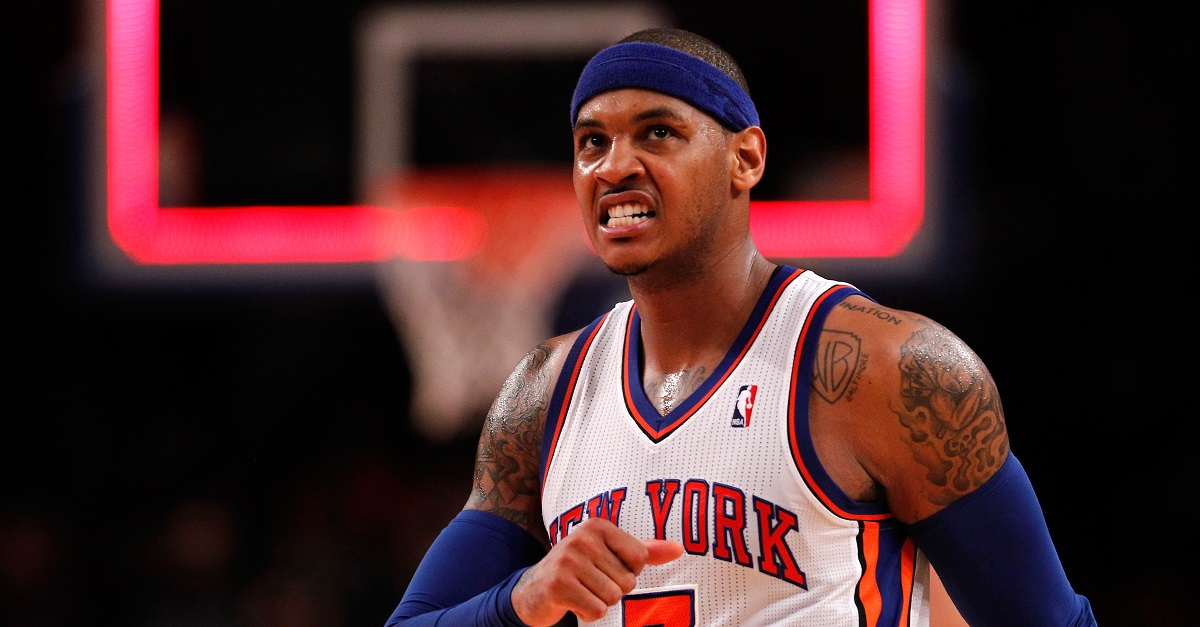 "Knicks have reportedly ""re-engaged"" on trade talks surrounding Carmelo Anthony"