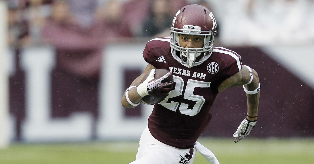 Former Texas A&M receiver, now on his second school, has been dismissed