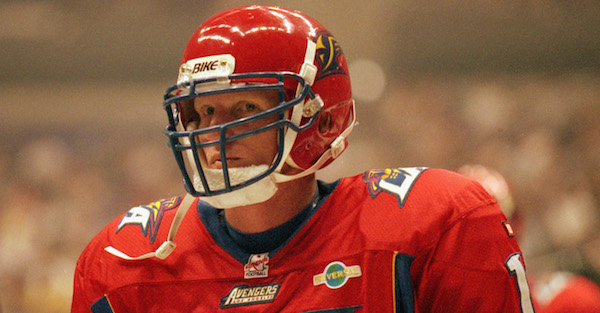 One of the biggest busts in NFL history is attempting a football comeback