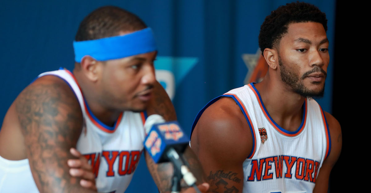 New York Knicks reportedly exploring sign-and-trade with former league MVP
